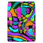 Abstract Sketch Art Squiggly Loops Multicolored Flap Covers (L)  Front