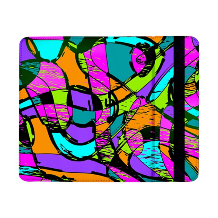 Abstract Sketch Art Squiggly Loops Multicolored Samsung Galaxy Tab Pro 8.4  Flip Case