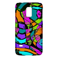 Abstract Sketch Art Squiggly Loops Multicolored Galaxy S5 Mini by EDDArt