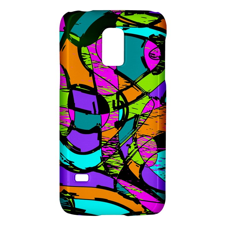 Abstract Sketch Art Squiggly Loops Multicolored Galaxy S5 Mini