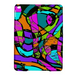Abstract Sketch Art Squiggly Loops Multicolored Ipad Air 2 Hardshell Cases by EDDArt