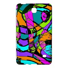 Abstract Sketch Art Squiggly Loops Multicolored Samsung Galaxy Tab 4 (8 ) Hardshell Case