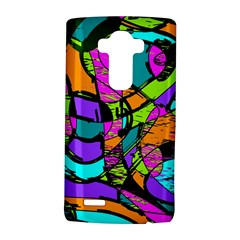 Abstract Sketch Art Squiggly Loops Multicolored Lg G4 Hardshell Case by EDDArt