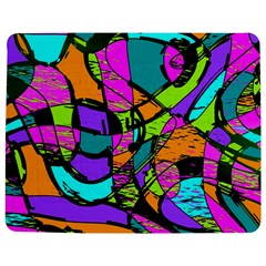 Abstract Sketch Art Squiggly Loops Multicolored Jigsaw Puzzle Photo Stand (rectangular) by EDDArt
