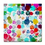 Colorful Diamonds Dream Tile Coasters Front
