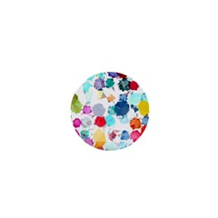 Colorful Diamonds Dream 1  Mini Buttons by DanaeStudio