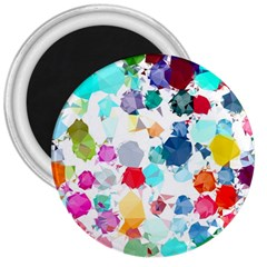 Colorful Diamonds Dream 3  Magnets