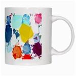 Colorful Diamonds Dream White Mugs Right