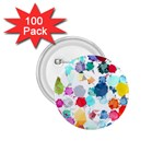 Colorful Diamonds Dream 1.75  Buttons (100 pack)  Front