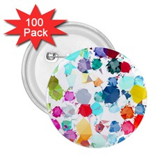 Colorful Diamonds Dream 2 25  Buttons (100 Pack)  by DanaeStudio