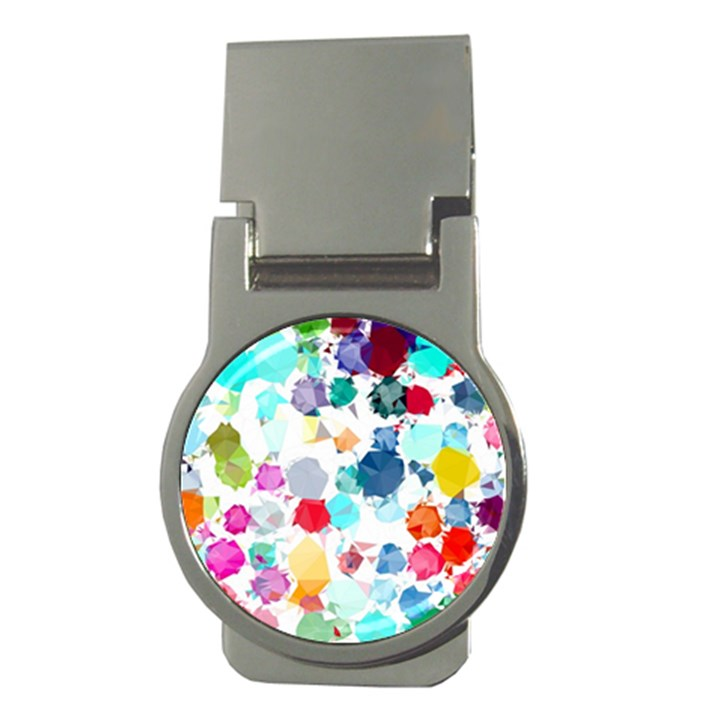 Colorful Diamonds Dream Money Clips (Round)