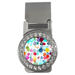 Colorful Diamonds Dream Money Clips (cz)  by DanaeStudio
