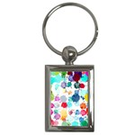 Colorful Diamonds Dream Key Chains (Rectangle)