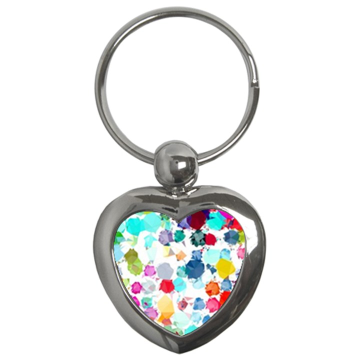 Colorful Diamonds Dream Key Chains (Heart)