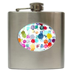 Colorful Diamonds Dream Hip Flask (6 Oz) by DanaeStudio