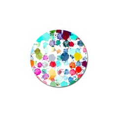 Colorful Diamonds Dream Golf Ball Marker