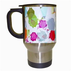 Colorful Diamonds Dream Travel Mugs (white) by DanaeStudio
