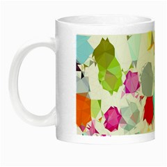 Colorful Diamonds Dream Night Luminous Mugs by DanaeStudio