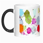 Colorful Diamonds Dream Morph Mugs Left