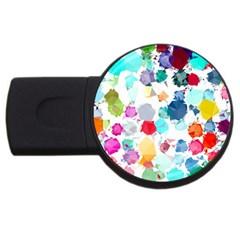 Colorful Diamonds Dream Usb Flash Drive Round (4 Gb)