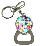 Colorful Diamonds Dream Bottle Opener Key Chains Front