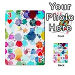 Colorful Diamonds Dream Playing Cards 54 Designs  Front - Heart3
