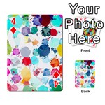 Colorful Diamonds Dream Playing Cards 54 Designs  Front - Diamond4