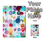 Colorful Diamonds Dream Playing Cards 54 Designs  Front - Diamond8