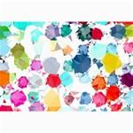 Colorful Diamonds Dream Collage Prints 18 x12 Print - 2