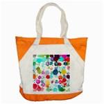 Colorful Diamonds Dream Accent Tote Bag Front