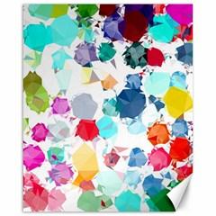 Colorful Diamonds Dream Canvas 16  X 20   by DanaeStudio