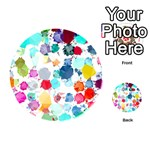Colorful Diamonds Dream Playing Cards 54 (Round)  Back
