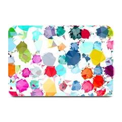 Colorful Diamonds Dream Plate Mats