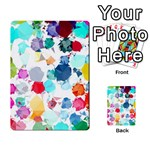 Colorful Diamonds Dream Multi-purpose Cards (Rectangle)  Back 49