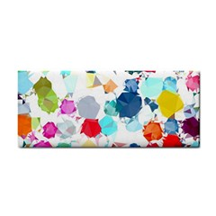 Colorful Diamonds Dream Hand Towel by DanaeStudio