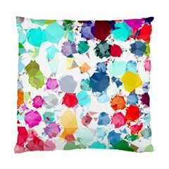 Colorful Diamonds Dream Standard Cushion Case (two Sides) by DanaeStudio
