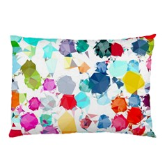 Colorful Diamonds Dream Pillow Case by DanaeStudio