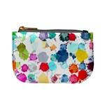 Colorful Diamonds Dream Mini Coin Purses Front