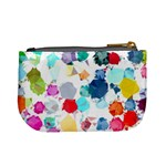 Colorful Diamonds Dream Mini Coin Purses Back
