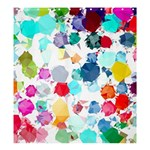 Colorful Diamonds Dream Shower Curtain 66  x 72  (Large)  58.75 x64.8 Curtain