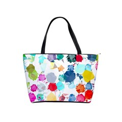 Colorful Diamonds Dream Shoulder Handbags by DanaeStudio