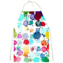 Colorful Diamonds Dream Full Print Aprons by DanaeStudio