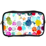 Colorful Diamonds Dream Toiletries Bags 2-Side Back