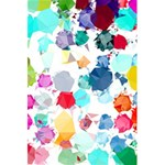 Colorful Diamonds Dream 5.5  x 8.5  Notebooks Back Cover Inside