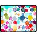 Colorful Diamonds Dream Fleece Blanket (Large)  80 x60 Blanket Front