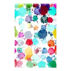 Colorful Diamonds Dream Shower Curtain 48  X 72  (small)  by DanaeStudio