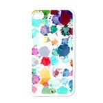Colorful Diamonds Dream Apple iPhone 4 Case (White) Front