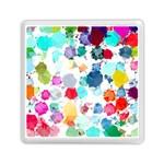 Colorful Diamonds Dream Memory Card Reader (Square)  Front