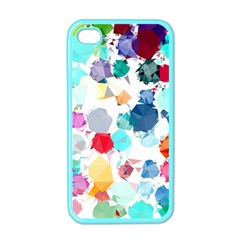 Colorful Diamonds Dream Apple Iphone 4 Case (color) by DanaeStudio