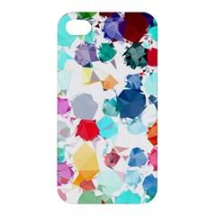 Colorful Diamonds Dream Apple Iphone 4/4s Hardshell Case by DanaeStudio
